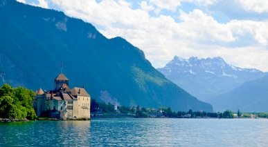 Chateau Chillon, Veytaux, Switzerland